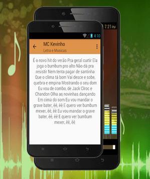 MC Kevinho Mix-Deixa Ela Beijar.O Grave Bater2018 apk screenshot