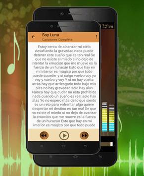 Soy Luna Canciones-Letras Eres.¿Cómo Me Ves? 2018 apk screenshot