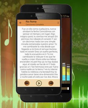 Rio Roma Songs-Canciones Todavía No Te Olvido 2018 apk screenshot