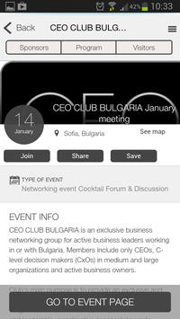 CEO CLUB BULGARIA apk screenshot