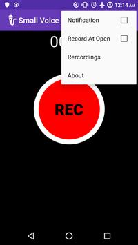 Small Voice Recorder screenshot 3