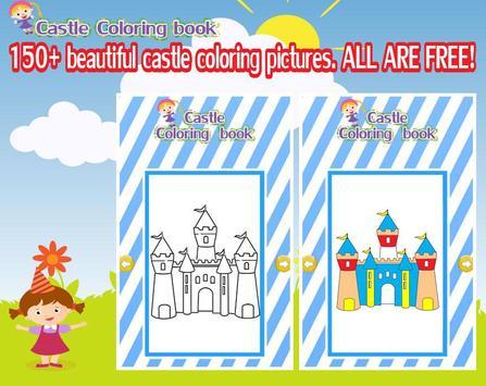Coloring castle screenshot 1