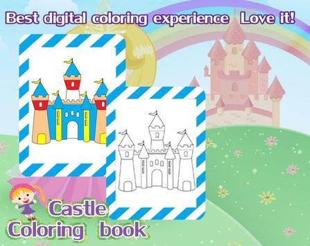 Coloring castle screenshot 2
