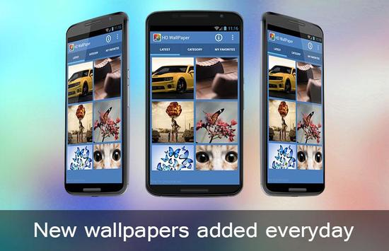 Wallpaper HD apk screenshot
