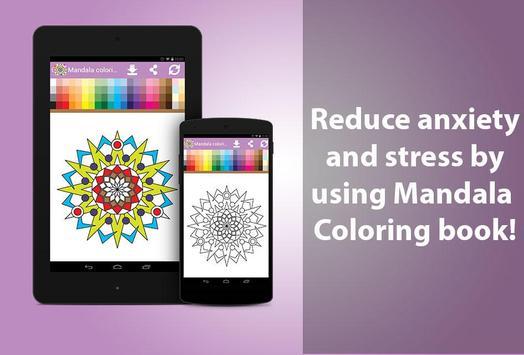 Mandala Coloring Book Poster Apk