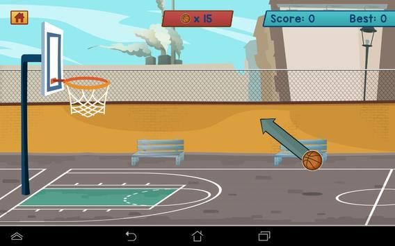 Basket At   Basket Atma Oyunu apk screenshot