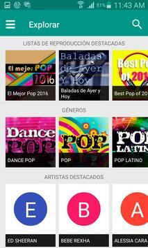 Pop Music Online apk screenshot