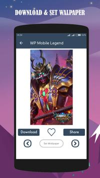 Mobile Wallpaper Legends HD screenshot 1