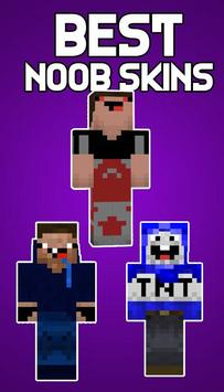 New Noob Skins For Minecraft PE Para Android APK Baixar - Skins para minecraft pe android
