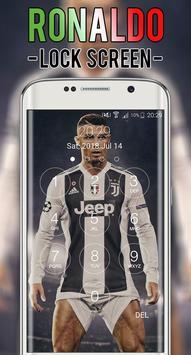 Cristiano JUV Ronaldo Lock Screen CR7 screenshot 3