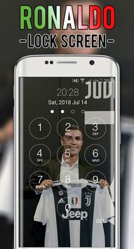 Cristiano JUV Ronaldo Lock Screen CR7 poster