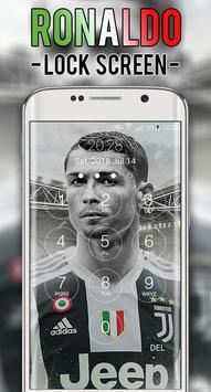 Cristiano JUV Ronaldo Lock Screen CR7 screenshot 1