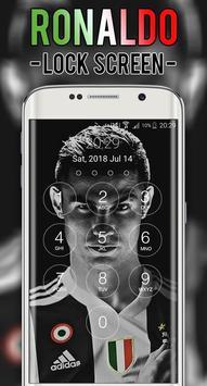 Cristiano JUV Ronaldo Lock Screen CR7 screenshot 2