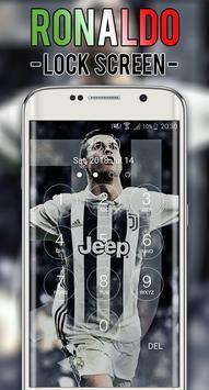 Cristiano JUV Ronaldo Lock Screen CR7 screenshot 6