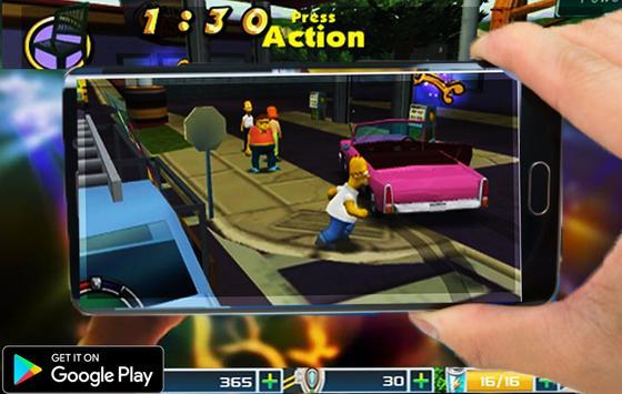 The New simpsons game apk screenshot