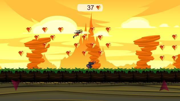 Adventure Youzumaki Run screenshot 7