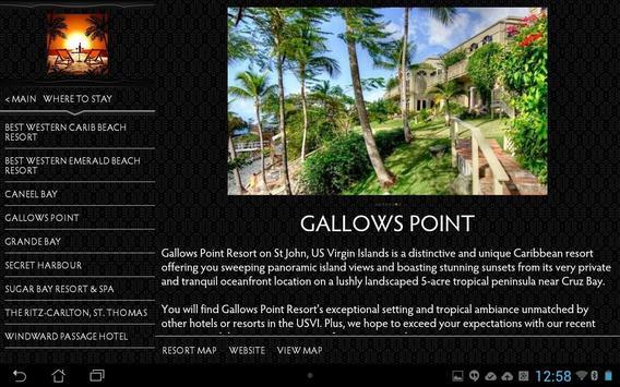 USVI Interactive screenshot 2