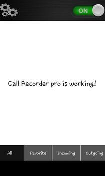CallRecorderPro new 2018 apk screenshot