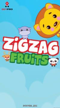 ZigZag Fruits poster