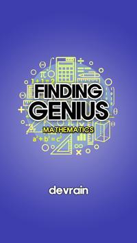 Finding Genius - Mathematics poster