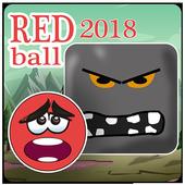 New Red Ball Adevnture 2018 icon