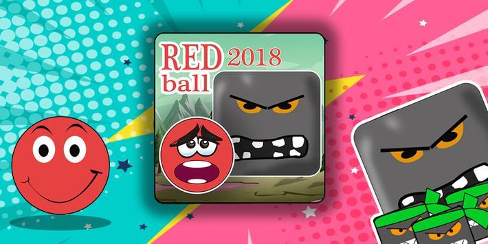 New Red Ball Adevnture 2018 screenshot 2