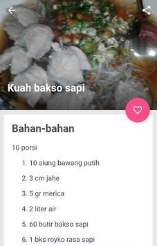 resep bakso sapi kenyal & gurih screenshot 1