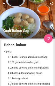 resep bakso sapi kenyal & gurih screenshot 2