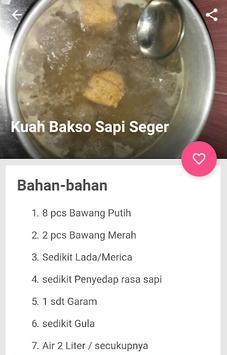 resep bakso sapi kenyal & gurih screenshot 3