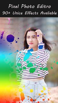 Pixel photo editor poster