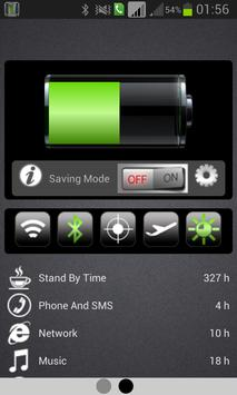 Battery Life Saver +Percentage apk screenshot