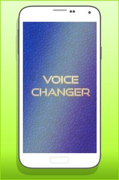 Voice Changer Effects Pro poster