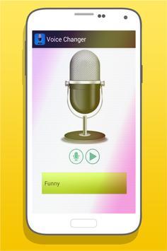 Voice Changer Effects Pro apk screenshot