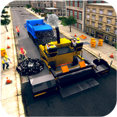 City Highway Road Construction Games icon