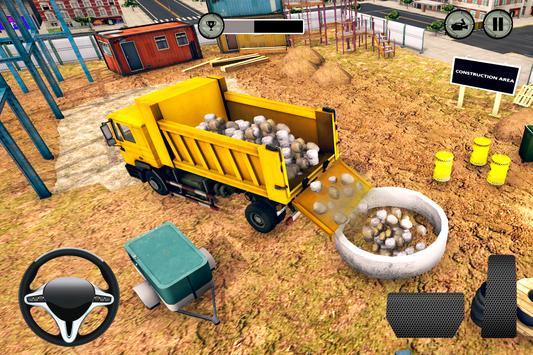 City Highway Road Construction Games screenshot 4