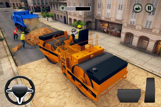 City Highway Road Construction Games screenshot 1