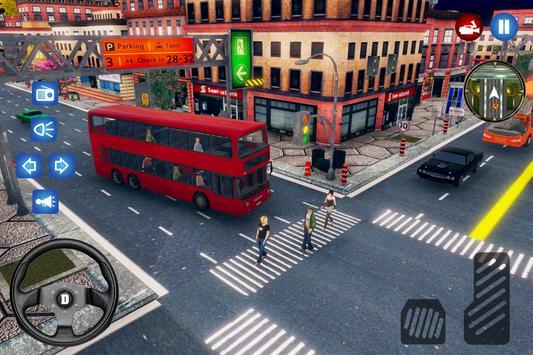 New City Bus Driver Simulator 2018 Pro Game screenshot 3
