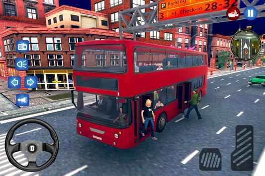 New City Bus Driver Simulator 2018 Pro Game poster