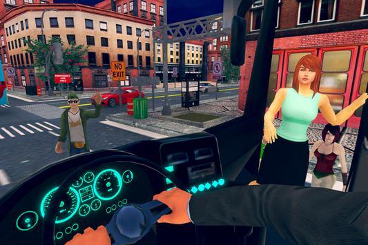 New City Bus Driver Simulator 2018 Pro Game screenshot 2