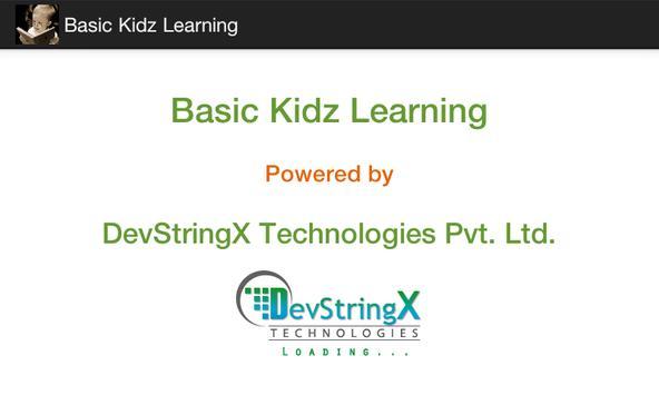 Basic Kidz Learning poster