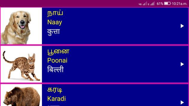 Learn Tamil From Hindi screenshot 19