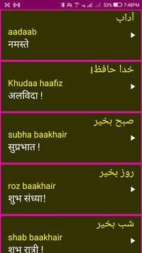 Learn Urdu From Hindi screenshot 6