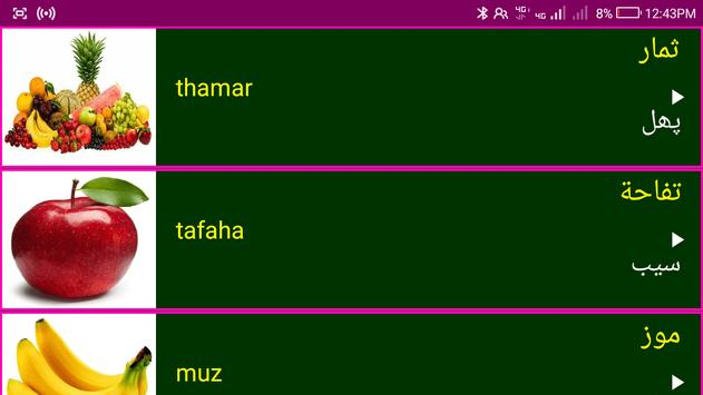Learn Arabic From Urdu screenshot 11