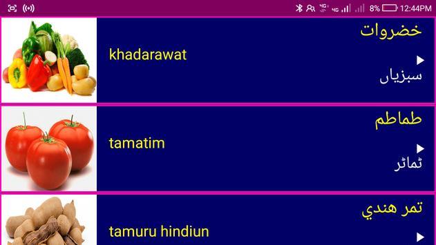 Learn Arabic From Urdu screenshot 12