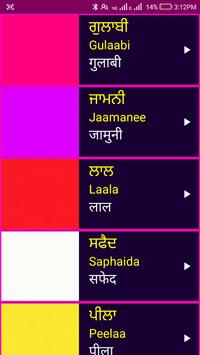 Learn Punjabi From Hindi screenshot 6
