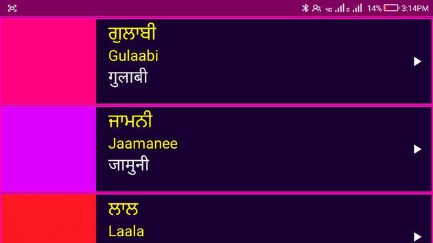 पंजाबी सीखो - Learn Spoken Punjabi From Hindi screenshot 15