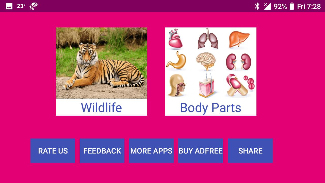 Learn Punjabi Wildlife and Body Parts for Android - APK Download