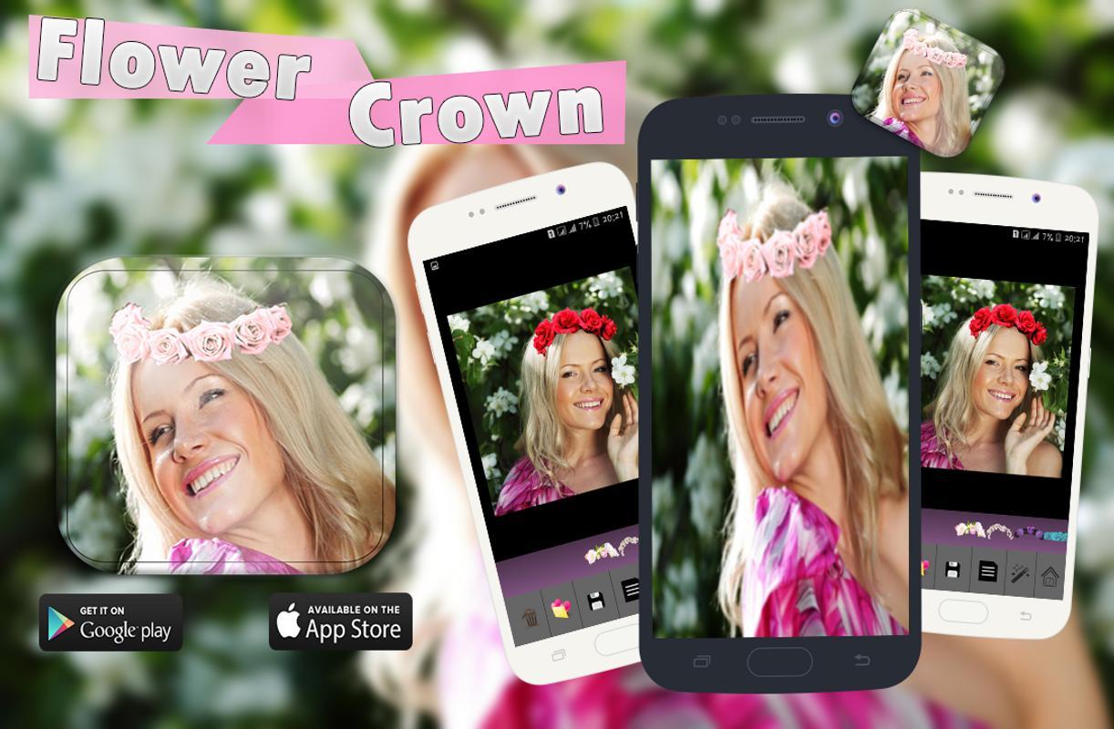 Flower Crown Photo Editor Apk