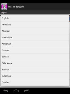 Text to speech all languages apk download free education app for text to speech all languages apk screenshot fandeluxe Gallery