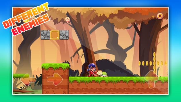 LadyBug Jungle World apk screenshot
